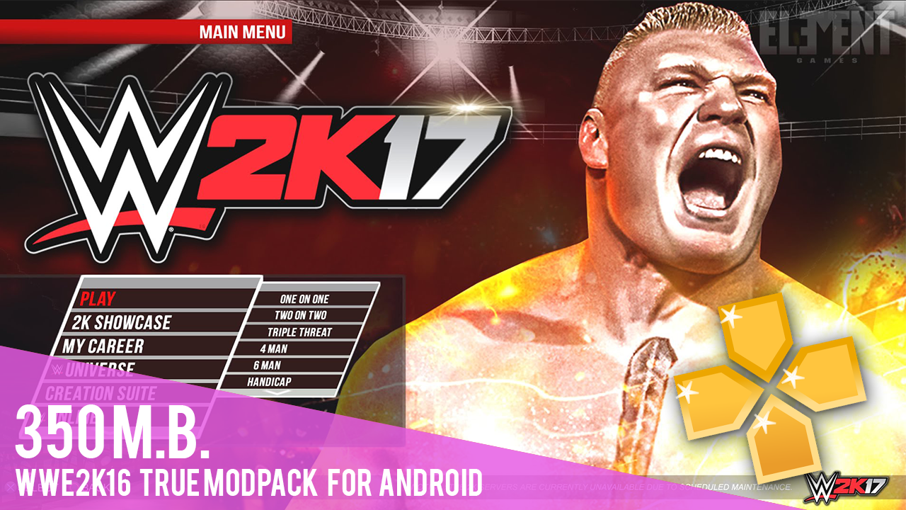 wwe 2k16 for ppsspp android